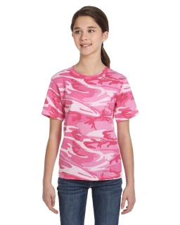 Youth Camo T-Shirt-Code Five