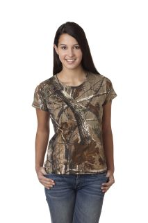 Ladies Realtree® Camo T-Shirt-Code Five