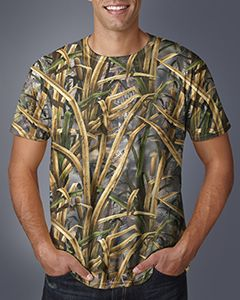 Mens Licensed Camo T-Shirt-Code Five