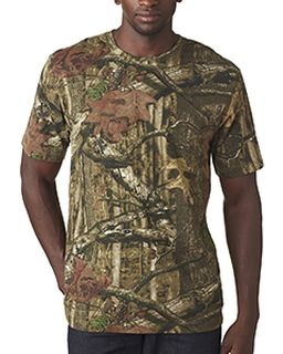 Mens Mossy Oak Camo T-Shirt-Code Five