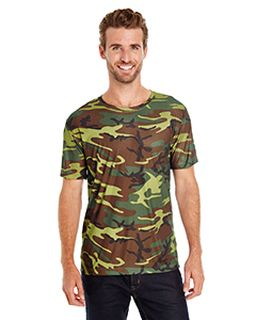 Mens Performance Camo T-Shirt-Code Five