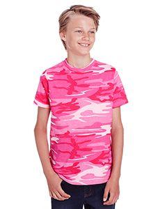Youth Camo T-Shirt-Code Five