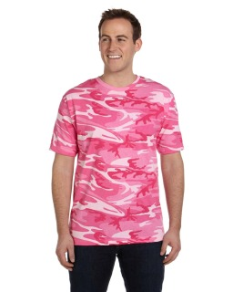 Mens Camo T-Shirt-Code Five