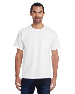 Unisex 5.5 Oz., 100% Ringspun Cotton Garment-Dyed T-Shirt With Pocket-ComfortWash by Hanes