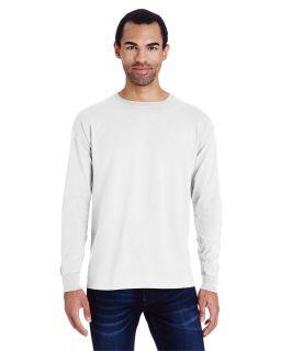 Unisex Garment-Dyed Long-Sleeve T-Shirt-ComfortWash by Hanes