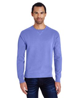 Unisex 7.2 Oz., 80/20 Crew Sweatshirt-ComfortWash by Hanes