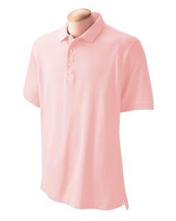 Mens Pima Pique Short-Sleeve Polo-