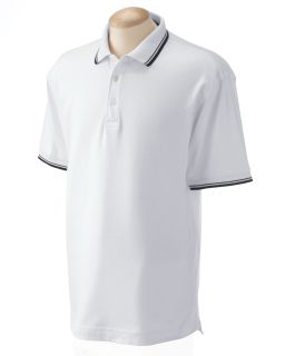 Mens Tipped Perfect Pima Interlock Polo-