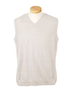 Adult V-Neck Vest-Devon & Jones