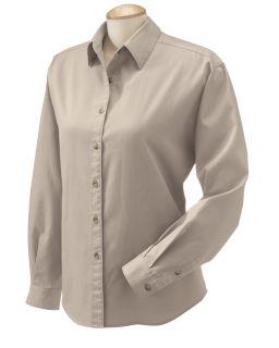 Ladies Long-Sleeve Titan Twill-