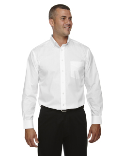 Mens Tall Crown Woven Collection™ Solid Broadcloth-Devon & Jones