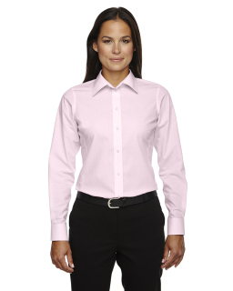 Ladies Crown Woven Collection™ Banker Stripe-Devon & Jones