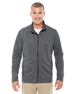Mens Fairfield Herringbone Full-Zip Jacket-