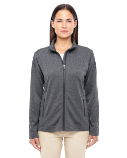 Ladies Fairfield Herringbone Full-Zip Jacket-