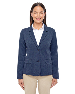 Ladies Fairfield Herringbone Soft Blazer-Devon & Jones