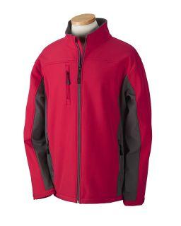 Mens Soft Shell Colorblock Jacket-