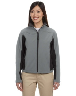 Ladies Soft Shell Colorblock Jacket-