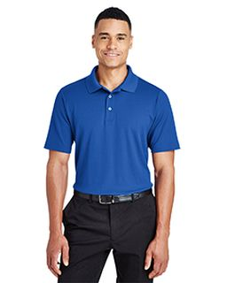 Crownlux Performance™ Mens Tall Plaited Polo-Devon & Jones