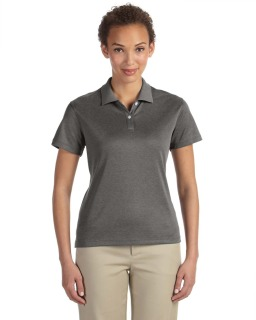 Ladies Pima-Tech™ Jet Pique Heather Polo-