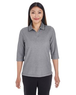 Ladies Pima-Tech™ Oxford Pique Polo-Devon & Jones