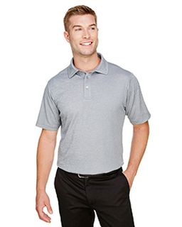 Crownlux Performance™ mens Address Melange Polo-Devon & Jones