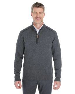 Mens Manchester Fully-Fashioned Quarter-Zip Sweater
