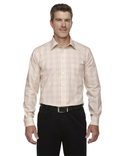 Mens Crown Woven Collection™ Glen plaid-