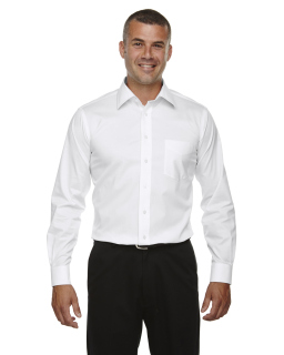 Mens Tall Crown Woven Collection® Solid Stretch Twill-Devon & Jones