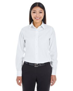 Ladies Crown Woven Collection� Royal Dobby Shirt-Devon & Jones