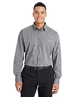 Crownlux Performance™ Mens Tonal Mini Check Shirt-