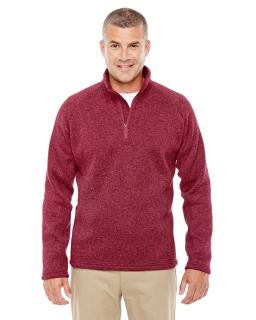 Adult Bristol Sweater Fleece Quarter-Zip-Devon & Jones
