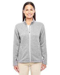 Ladies Bristol Full-Zip Sweater Fleece Jacket-Devon & Jones
