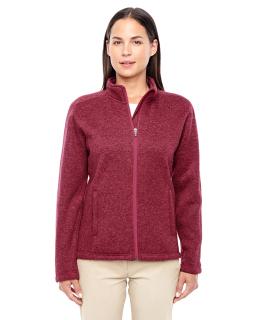 Ladies Bristol Full-Zip Sweater Fleece Jacket-