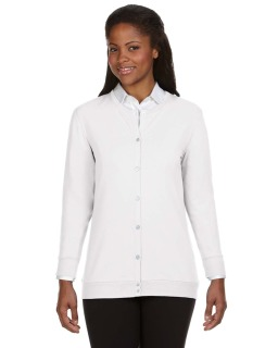 Ladies Perfect Fit™ Ribbon Cardigan-Devon & Jones