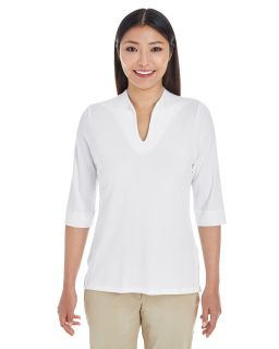 Ladies Perfect Fit™ Tailored Open Neckline Top-