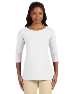 Ladies Perfect Fit™ Ballet Bracelet-Length Knit Top-Devon & Jones