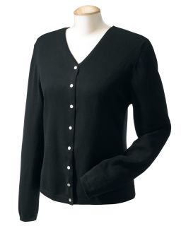 Ladies Stretch Everyday Cardigan Sweater-Devon & Jones
