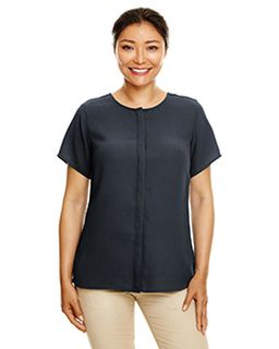 Ladies Perfect Fit� Short-Sleeve Crepe Blouse-