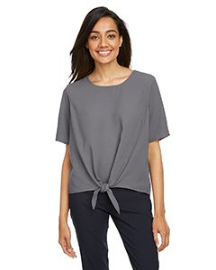 Ladies Perfect Fit™ Tie-Front Blouse-