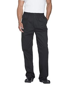 Mens Classic Elastic Waist Zip Trouser-Dickies Chef