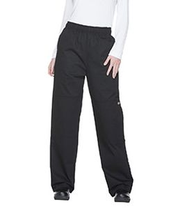 Unisex Double Knee Baggy Elastic Pant