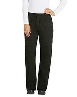 Laidies Elastic Drawstring Low-Rise Pant