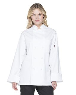 Unisex Classic Knot Button Chef Coat-Dickies Chef