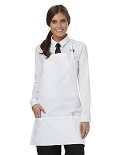 3-Pocket Bib Apron With Adjustable Neck