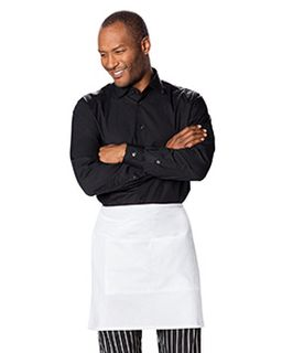 Half Bistro Waist Apron With 2 Pockets-