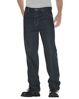 Unisex Relaxed Straight Fit 5-Pocket Denim Jean Pant-