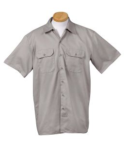 Mens 5.25 Oz./Yd� Short-Sleeve Work shirt-