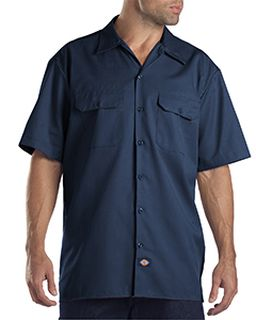 Unisex Tall Short-Sleeve Work Shirt-