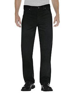 Unisex Regular Straight Fit 5-Pocket Denim Jean Pant-