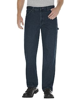 Unisex Relaxed Fit Stonewashed Carpenter Denim Jean Pant-